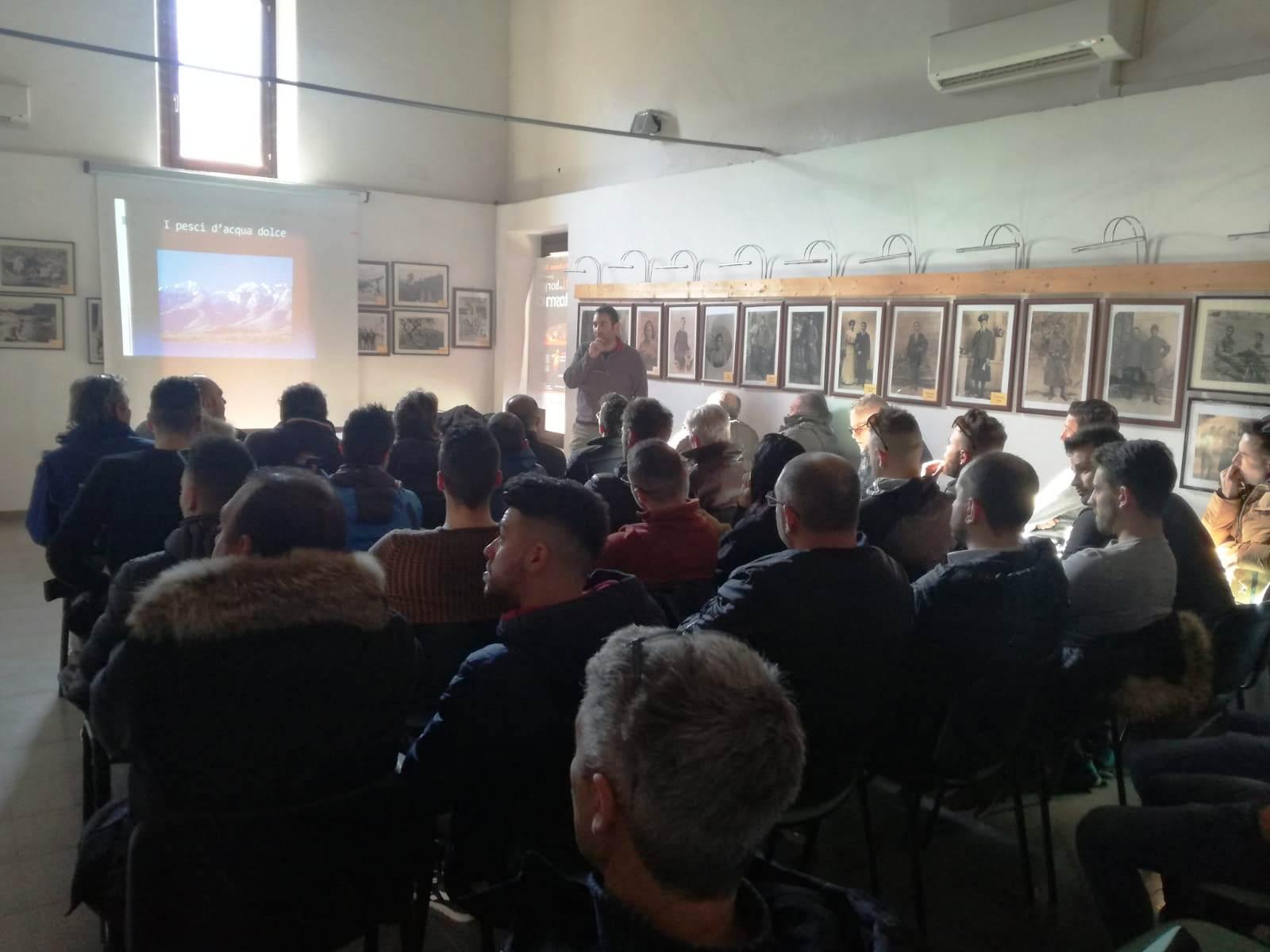 Al via il primo corso regionale per rilascio licenza di pesca, in Valle Roveto