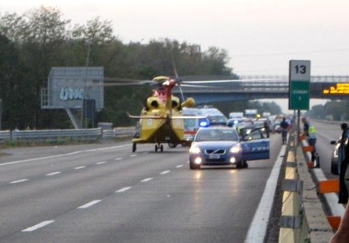 Incidente sulla A24, tra Carsoli e Vicoavaro, muore un automobilista