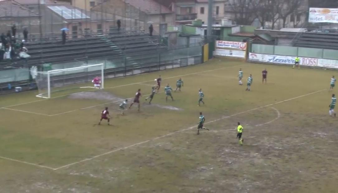 Cocente sconfitta per l'Avezzano Calcio, fermata in casa dall'Agnonese