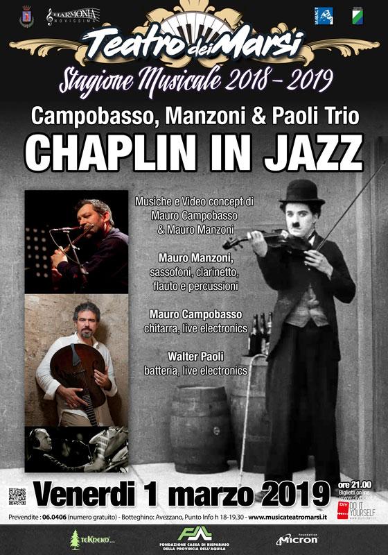 Charlie Chaplin In Jazz al Teatro Dei Marsi
