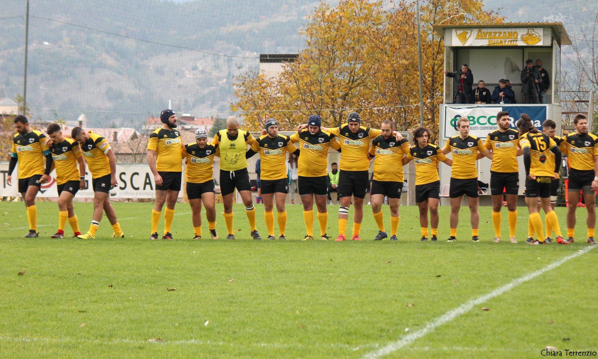 Avezzano Rugby: under 18 a Roma contro Rugby Roma, impegnate in trasferta anche under 14 e 16; riposo per la serie B