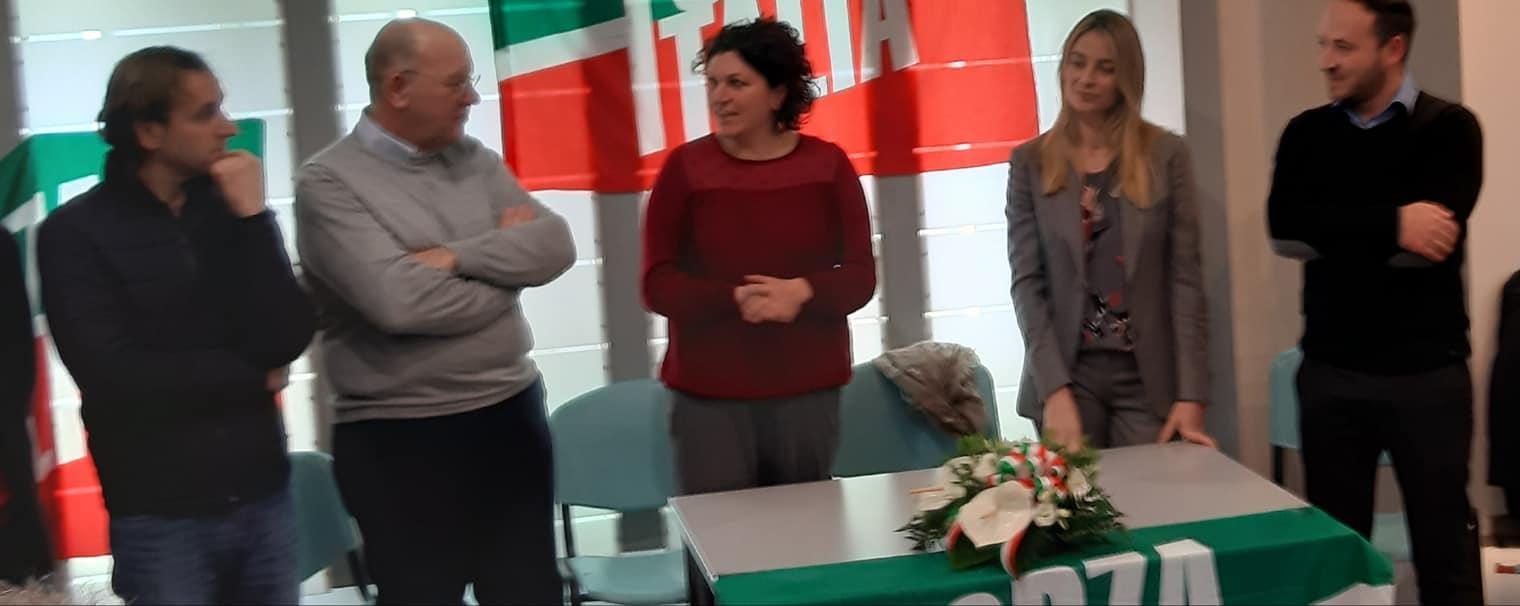 Del Corvo, Donadei e Matera insieme nella conferenza di ieri ad Avezzano