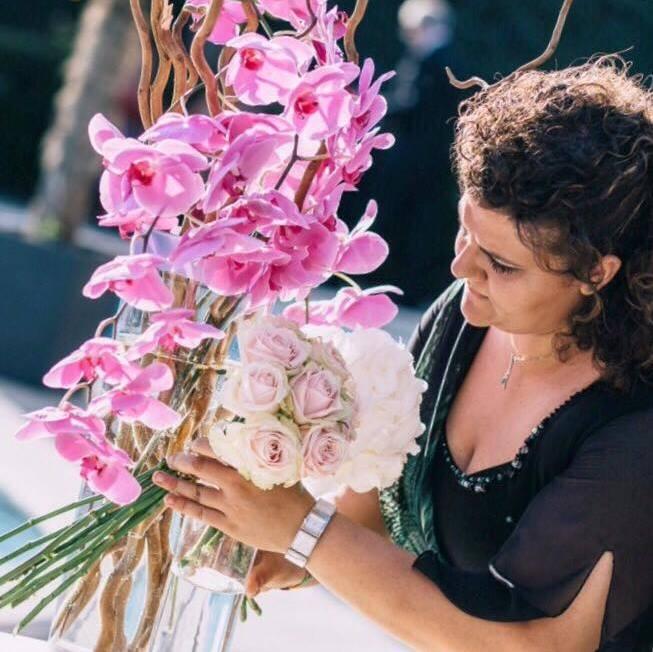La fiorista avezzanese Michela Torti al Festival di Sanremo