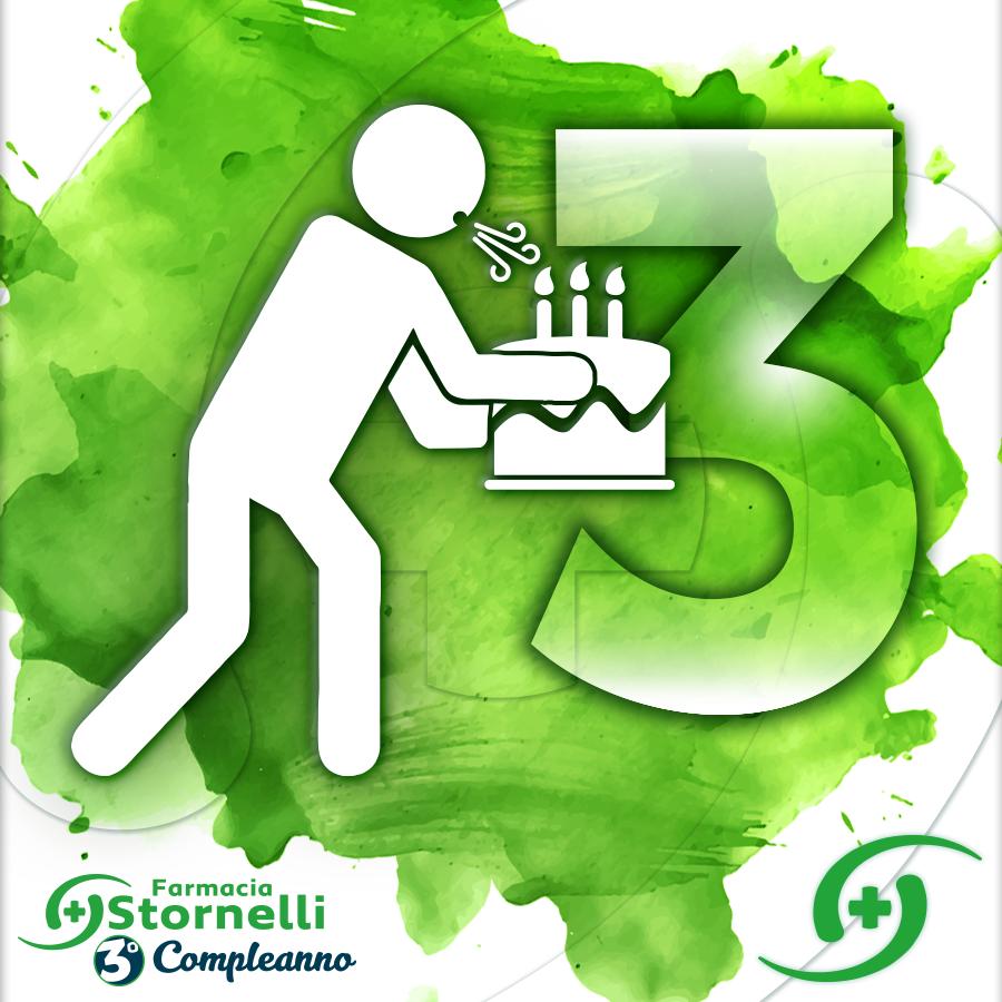 La Farmacia Stornelli Festeggia il suo terzo compleanno, tante iniziative legate alla prevenzione e al benessere