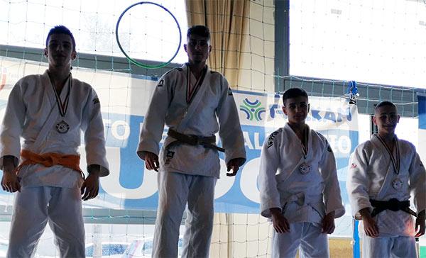 Vittoria dell'atleta Vincenzo Chiarilli al campionato Italiano cadetti di judo a Roma