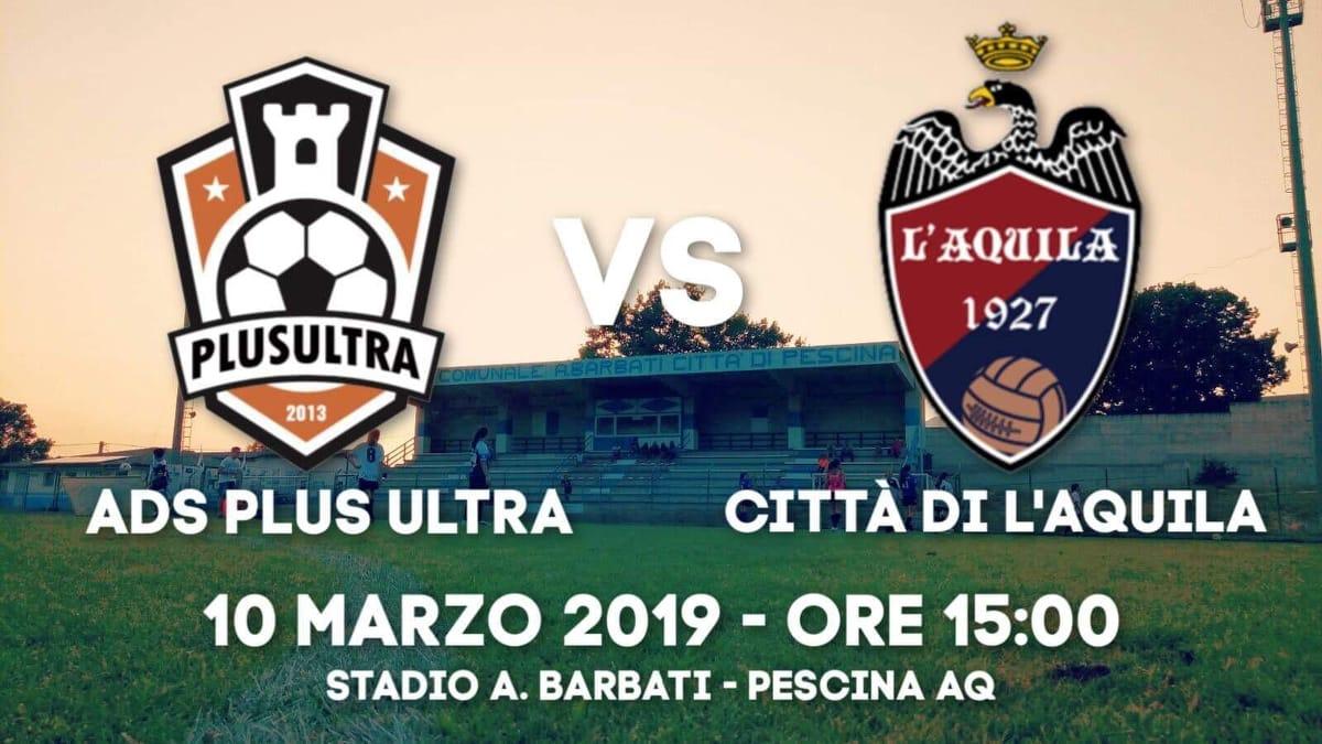 Plus Ultra-Città di L'Aquila: la partita si giocherà a Pescina, c'è l'OK ufficiale della Lega