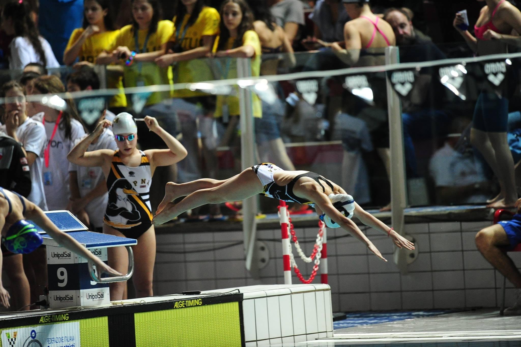 Pinguino, Claudia Di Passio la migliore atleta abruzzese ai campionati italiani a Riccione