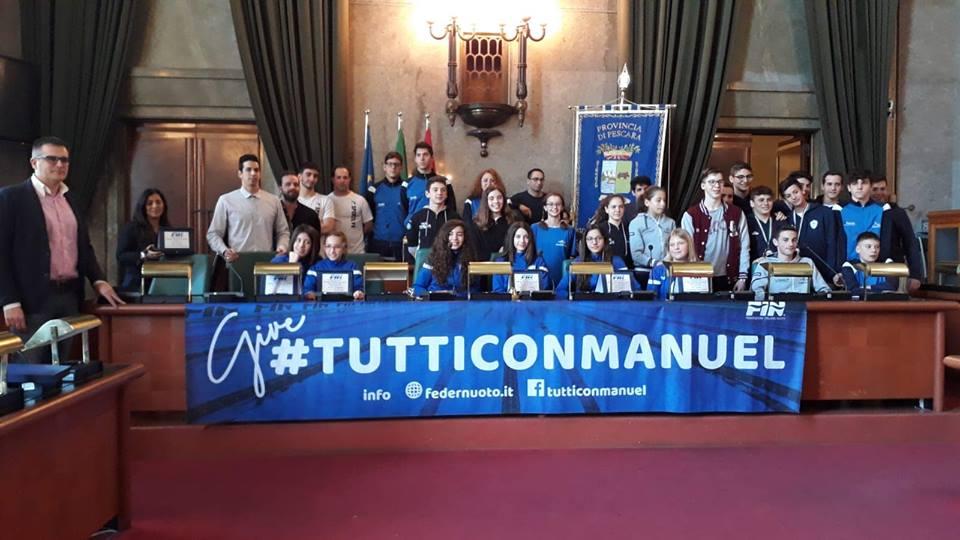 Il premio della FIN Abruzzo 2018 ad Alessandro Bianchi