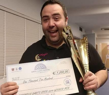 Il marsicano Stefano Tomassetti vince ad Atene per l'Akropolis Open WDF