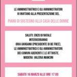 Prevenzione del femminicidio, centoventi casi documentati in Marsica, ad Aielli il via il piano di sostegno alla Casa delle Donne Marsica