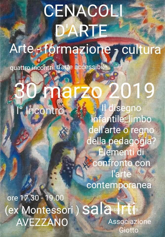 """""""Cenacoli d'arte"""": l'Associazione Giotto organizza quattro incontri d'arte accessibile"""