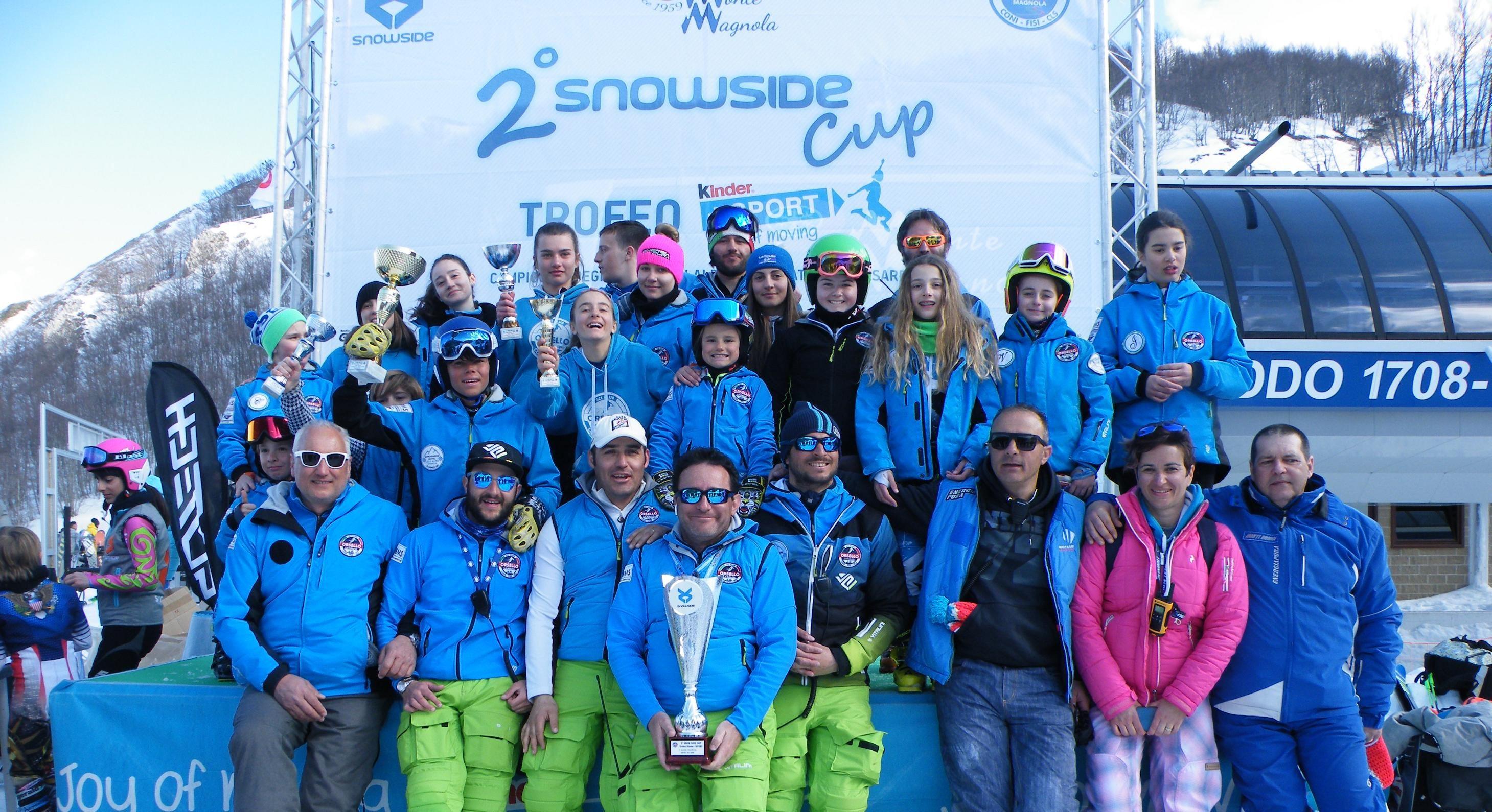 Conclusi ad Ovindoli i campionati Regionali di Sci Alpino. Classifica dei campioni regionali di gigante