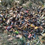 Trasacco, pulita porzione di territorio invasa dalle batterie stilo