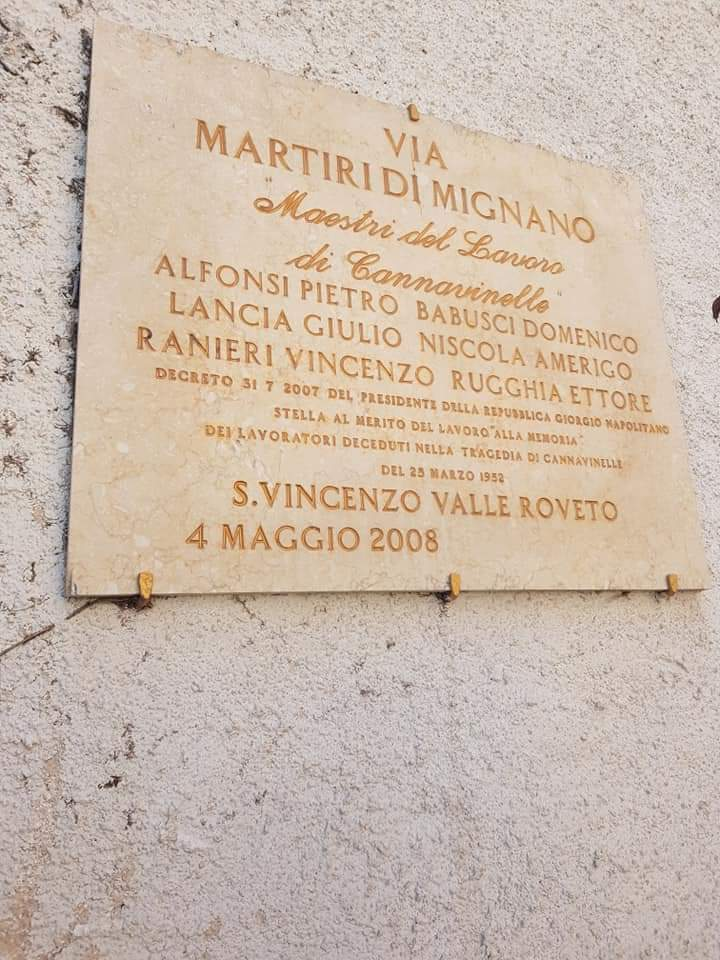 Oggi ricorre l'anniversario della tragedia di Mignano Monte Lungo