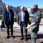 Avezzano, proseguono i lavori al parco del Castello Orsini