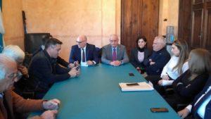 """Avezzano, De Angelis incontra i neo eletti in consiglio regionale insieme ad assessori e consiglieri comunali, """"collaboriamo per il territorio"""""""