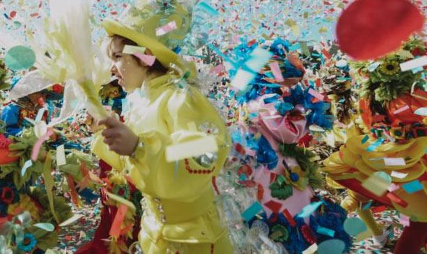 Comune di Avezzano, festa di Carnevale in piazza Risorgimento