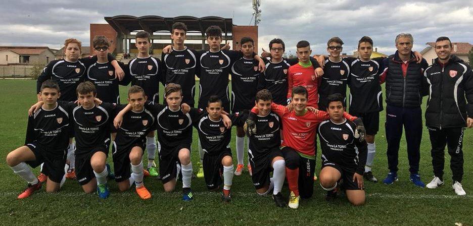 La squadra di calcio Virtus Marsica Est con 10 vittorie e 3 pareggi consolida il primo posto nel girone