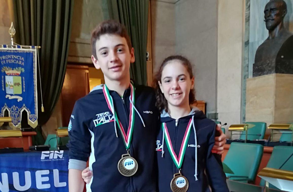 Plauso per gli atleti avezzanesi della Team Centro Italia Nuoto