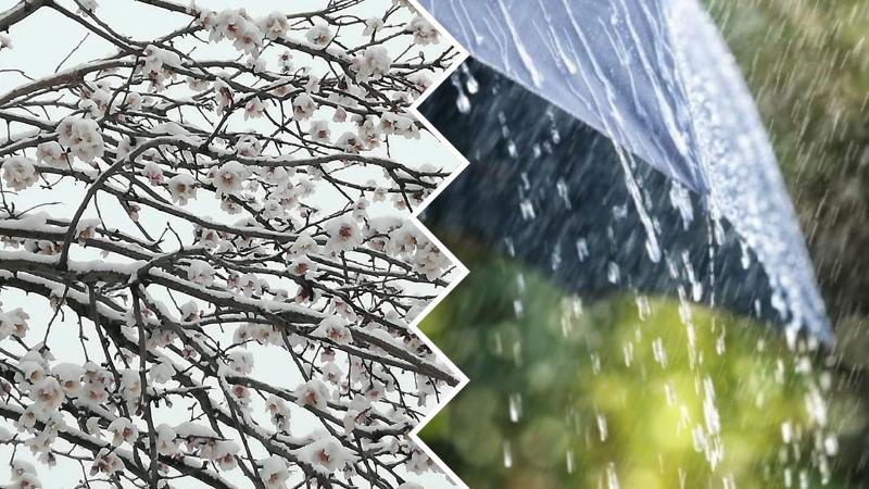 Marzo pazzerello: vento, pioggia e neve in arrivo sulla Marsica