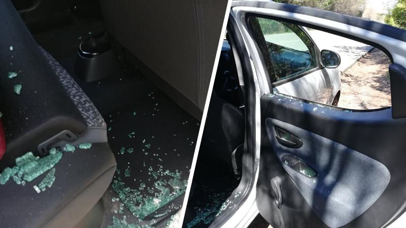 Ladri in azione a Pietraquaria, spaccano il vetro dell'auto per rubare lo zainetto