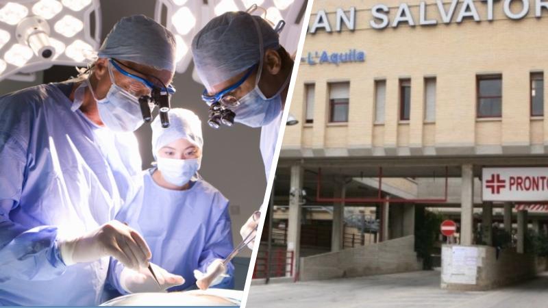Ricostruzione digitale in 3D dei tessuti alla base del complesso intervento chirurgico all'ospedale San Salvatore