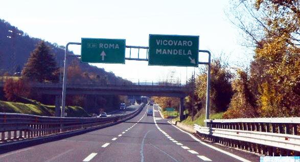 A24 direzione Roma, chiuso per lavori il tratto autostradale dal casello di Carsoli fino a Vicovaro Mandela