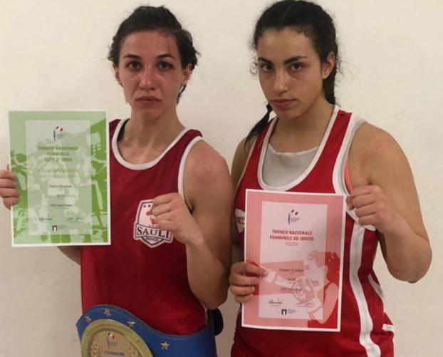 Torneo Nazionale Femminile: medaglia d'oro e d'argento per l' A.S.D. Sauli Boxe