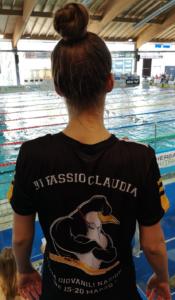 4° posto ai Criteria di Riccione per l'atleta della Pinguino Nuoto Claudia Di Passio