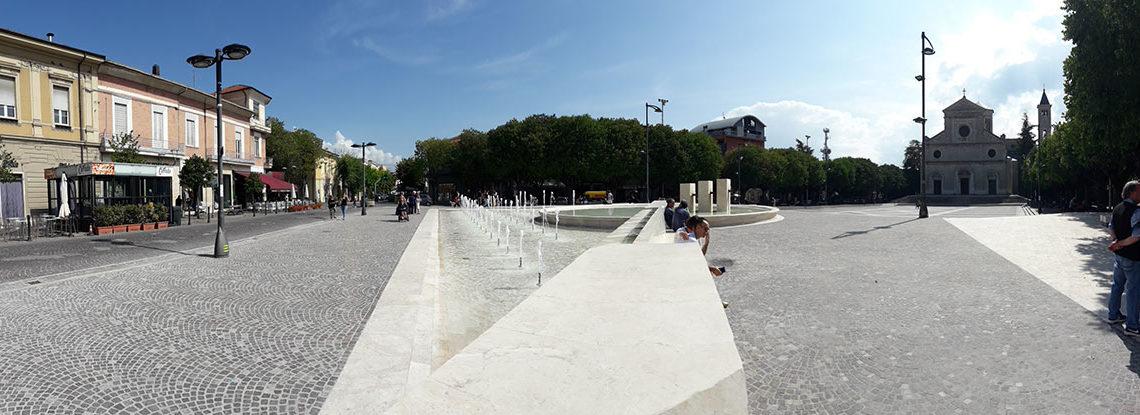 Avezzano. Apre cantiere in piazza Risorgimento. Ecco i cambi nella viabilità