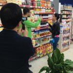 E' successo tra gli scaffali del supermercato di San Benedetto dei Marsi, due coreani ed una cinepresa