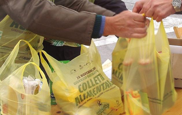 Avezzano:CasaPound Italia torna in piazza ad Avezzano per la raccolta alimentare