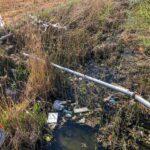 """Canali del Fucino. Gallese della Guardia Ecozoofila Nazionale, """"una discarica a cielo aperto con rischio di inquinamento delle colture"""""""