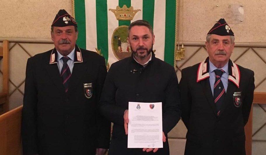 Il Comune di Tagliacozzo e l'Associazione dei Carabinieri in congedo si convenzionano per importanti servizi sociali