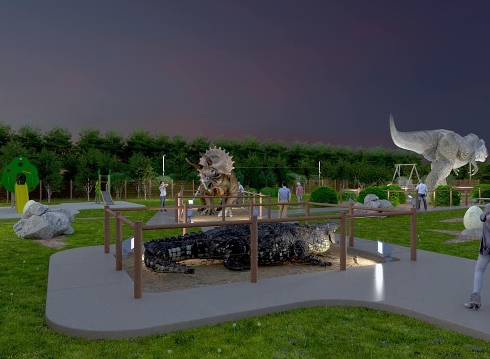 Arriva il parco preistorico ad Avezzano. Presentato il progetto nella Sala Consiliare, il nome sarà scelto dai bambini.