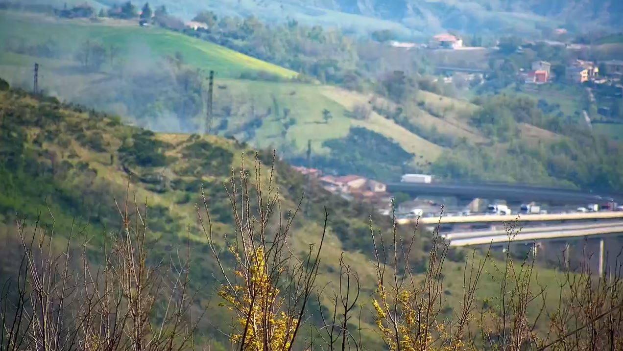 Traffico sbloccato sulla A24 altezza S.Gabriele-Assergi direzione Roma