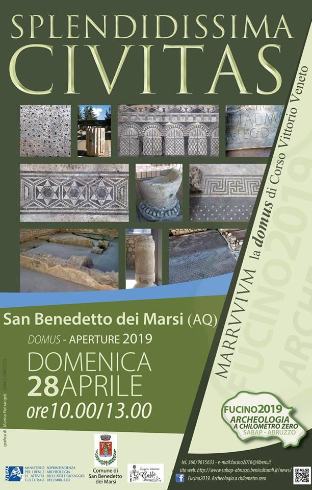 Nuova apertura della Domus di San Benedetto dei Marsi