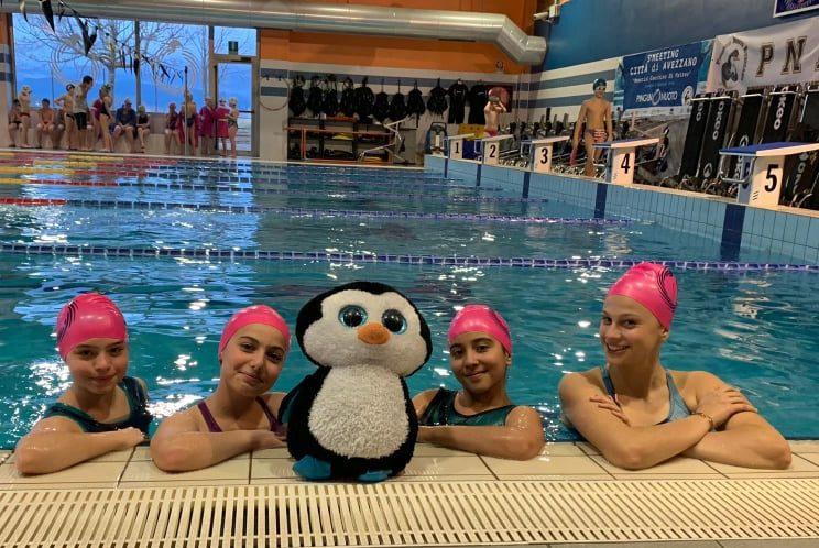 Le atlete della Pinguino Nuoto parteciperanno al Campionato Nazionale Italiano FIN a Roma