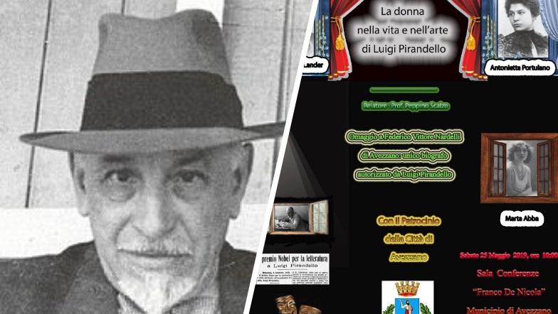 """Conferenza del prof. Peppino Scalzo su """"La donna nella vita e nell'arte di Luigi Pirandello"""""""