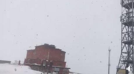 Neve di primavera a Campo Imperatore