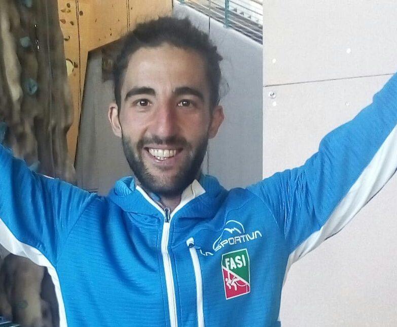 Il marsicano Federico Di Felice convocato in Nazionale per i Mondiali di Paraclimbing