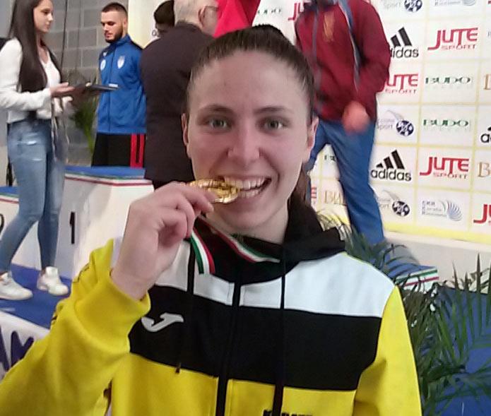 L'atleta avezzanese Giorgia Di Cosimo medaglia d'oro al 20° ADIDAS OPEN D'ITALIA