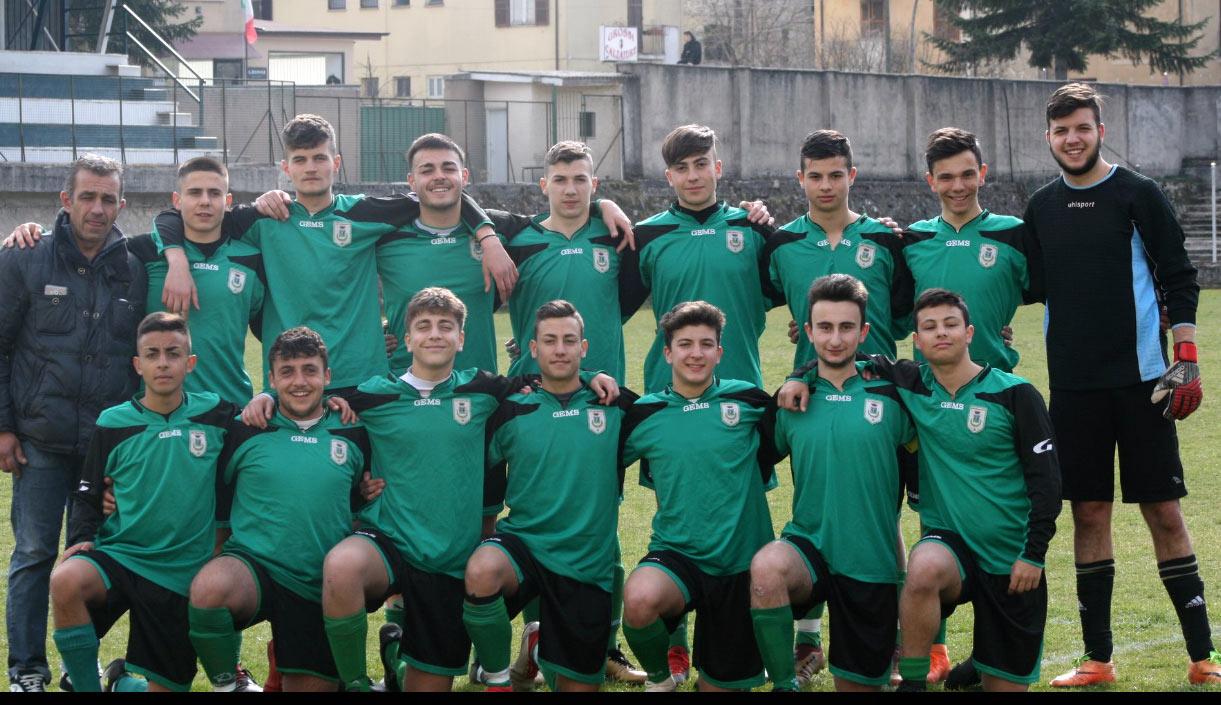 I ragazzi della juniores del Tagliacozzo hanno vinto il campionato regionale Girone l'Aquila