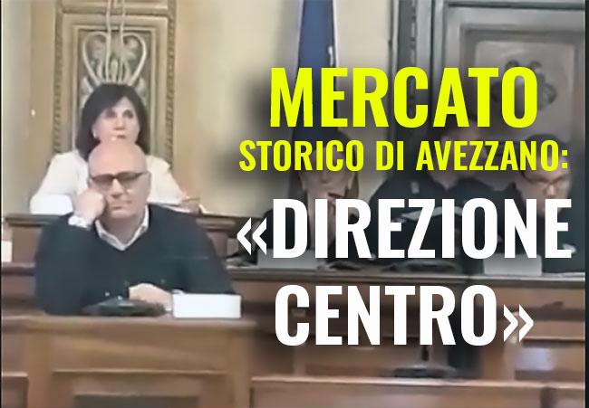 Mercato storico di Avezzano, si allo spostamento in zona centro entro maggio, bocciata la mozione dell'opposizione