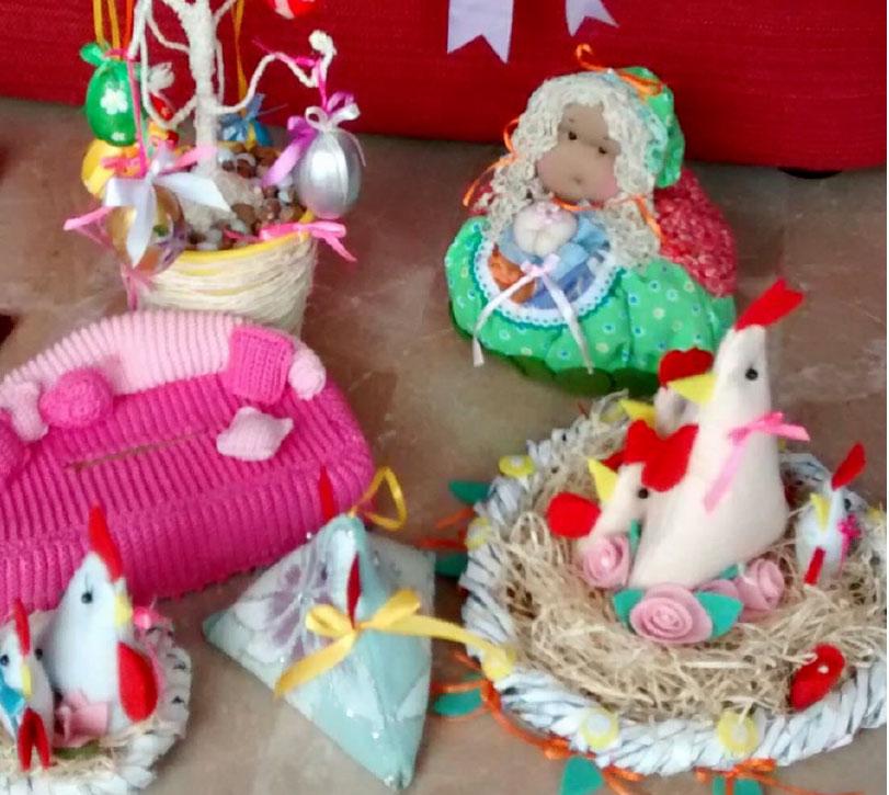 Mostra di oggetti artigianali Pasquali ad Avezzano