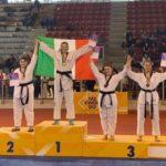 Ivana Ciccarelli e Francesco Scamolla conquistano il titolo di Campioni d'Italia 2019, per il Taekwondo Celano è record storico!