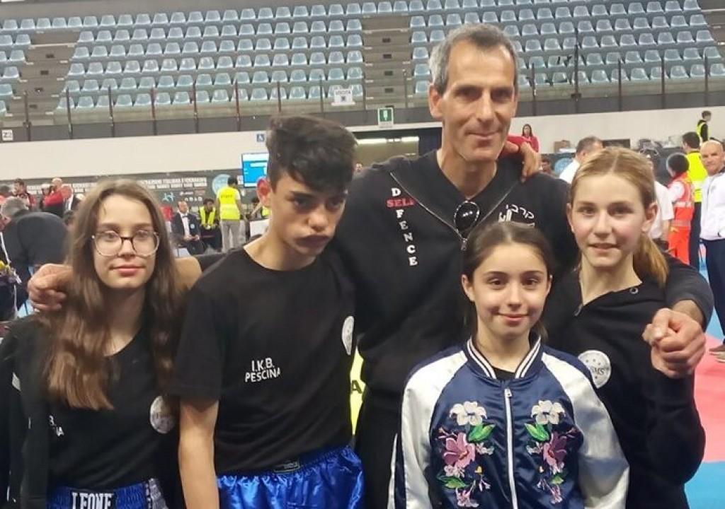 Pioggia di medaglie per i marsicani nel Campionato Italiano Assoluto Trofeo Italia di Kickboxing