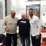 Il calciatore Peter Makrillos incontra i ragazzi del Centro Arcobaleno di Pescina