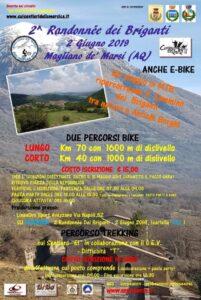 In mountain bike sul cammino dei Briganti a Magliano dè Marsi