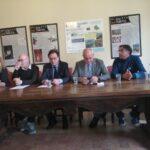 Conferenza stampa al Parco regionale con Mauro Febbo e Sindaci del Parco